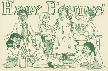 Holiday Card 1987