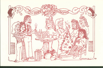 Holiday Card 1990
