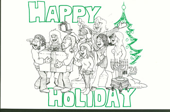 Holiday Card 1996