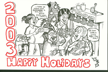 Holiday Card 2003